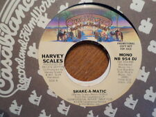 PROMO CASABLANCA 45 RECORD /HARVEY SCALES / SHAKE-A-MATIC/ NR MINT SOUL