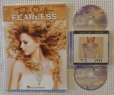 TAYLOR SWIFT Fearless Hal Leonard Songbook 1989 Karaoke 2 Disc Big Machine EX