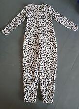 Marks & Spencer ~Warm Fleece Winter Animal Print Onesie1 All In One/PJ's ; 10 uk