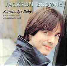 """JACKSON BROWNE  Somebody's Baby PICTURE SLEEVE 7"""" 45 record + juke box strip NEW"""