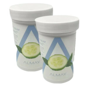 2 Almay Eye Makeup Remover Pads Wipe It Never Happened 120 Pads Each