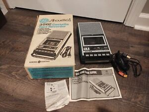 General Electric GE Silhouette 4 Cassette Tape Player Recorder Model 3-5152