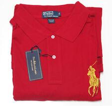 $125 Polo Ralph Lauren Mens Big Pony Logo Long Sleeve Button Mesh Shirt Sweater