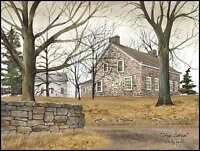 Art Print, Framed, Plaque By Billy Jacobs - Stone Cottage - BJ195
