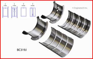 Engine Crankshaft Main Bearing Set ENGINETECH, INC. BC319JSTD