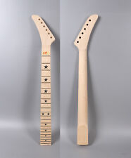 "Yinfente Electric guitar neck 22 Fret 25.5"" Maple Fretboard Star Inlay New #TX17"