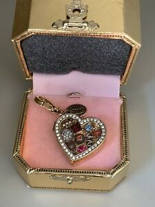 Juicy Couture Box of Chocolates Heart 2011 LimIted Ed Charm w Tag Box YJRU4642