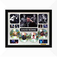 David Bowie Signed & Framed Memorabilia - 4CD - Silver - Limited Edition