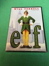 BRAND NEW SEALED Elf WS FS DVD 2 LANGUAGES ENGLISH FRANCAIS WILL FERRELL