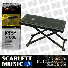 Xtreme - Guitarist's Footstool AMS Guitar Foot Stool Black Metal Frame