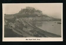 Channel Islands Jersey Orgueil Castle railway Gorey Station Used 1924 RP PPC