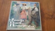 JUMP BACK HONEY Poems Paul Laurence Dunbar NEW Hardcover/dust jacket Book