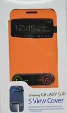 Samsung Galaxy S III S View phone cover Orange