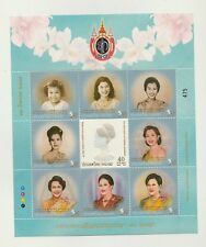 Stamps collection  MINT  Thailand set complete sheet Queen's life  #493