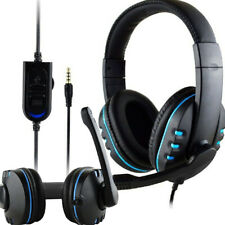 Wired Headphone With Microphone With Volume Control Over Ear Gaming Headphone UK