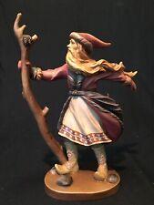 Duncan Royale History Of Santa 1/500 Signed Hand Carved Wood Sculpture Dolfi #6