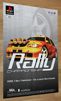 Mobil 1 Rally Championship very rare Promo Poster 60x42cm Playstation Xbox PS