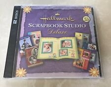 Hallmark (2-Disc PC, 2005) Scrapbook Studio Deluxe Version 3.0 Software - SEALED