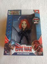 Marvel Captain America Civil War 4� Die-cast Metal Black Widow