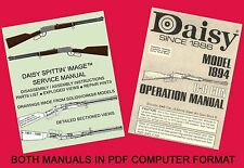 Daisy 1894 Spittin' Image™ PDF Re-drawn Service Manual + Bonus Operation Manual