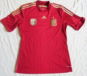 SPAIN Adidas Home Shirt 2014/15 (M)