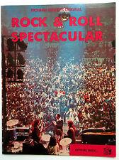 ROCK & ROLL SPECTACULAR Program Richard NADER Revivals MINI BIO's 60's POP