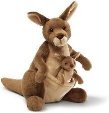 GUND Jirra Kangaroo With Joey 25cm Plush Toy
