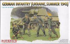 1/35 Dragon 6153 - German Infantry 1943 Ukraine, Summer Model Kit