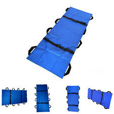 Portable lightweight Soft Stretcher 8 Handles Medical Stretcher Hospital Aid PGS
