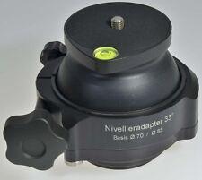 Berlebach Nivellieradapter 33° Ø 100 mm
