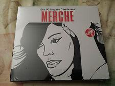 MERCHE - SUS 50 MEJORES CANCIONES - 3 CD - NUEVO - PRECINTADO - SEALED