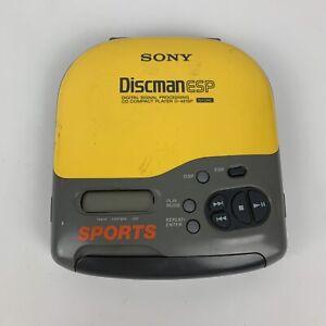 VTG Sony D-421SP Sports Discman ESP Digital Signal Processing CD Compact Player