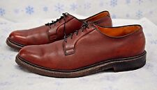 Alden Men's Shoes 11.5 AA Pebbled Leather Lace Up Dress Oxford Shoes