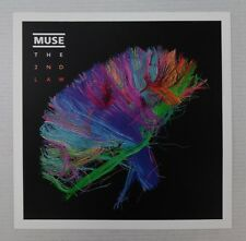 """Muse * The 2nd Law * Promo Poster Flat 12"""" x 12"""" rare limited"""