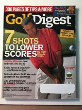 New listing Vintage Golf Digest Magazine, June 1999, 7 Shots to Lower Scores by Tiger Woods