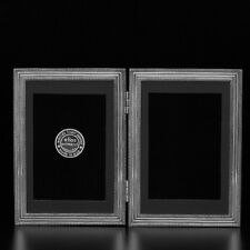 """2143D Double Classico 4"""" x 6"""" Picture Frame by Elias Artmetal - NEW"""