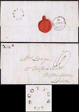 Norfolk PH 1827 Rare Scottow Mileage to London