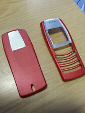 New for Nokia 6610 Red Front Fascia Housing & Battery Cover