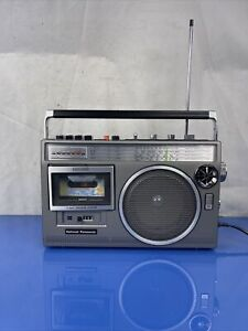 National Panasonic RX-2350F Am Fm 4 Band Radio Cassette Player And Recorder