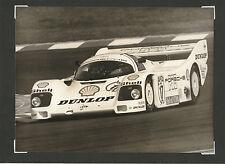 ADAC EIFELRENNEN 1987 #17 PORSCHE 962 C HANS STUCK ORIGINAL WERKFOTO PHOTOGRAPH