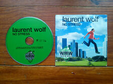CD single LAURENT WOLF NO STRESS