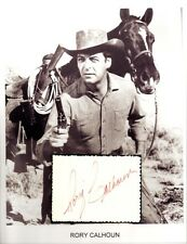 Rory Calhoun Autograph Spellbound Laurel and Hardy River of No Return Red House