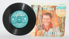 "Russ Conway - Time To Celebrate - 1959 Vinyl 7"" EP - Columbia SEG 7982"