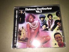 Motown Chartbusters Vol 5: CD Album: Stevie Wonder: Four Tops: Marvin Gaye: WM1