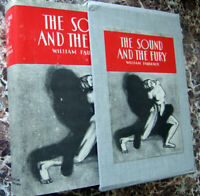 1929 First Edition Facsimile~The Sound and the Fury,William Faulkner~Exc.w/ Case