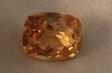 6.02cts. Imperial Precious Natural Topaz Loose Gemstone Cushion Cut
