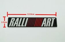 NEW 3D metal RALLI ART Logo Emblem Sticker Decal Badge 10 x 2.5cm