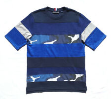 $130 Tommy Hilfiger Collection Men T-Shirt Size M Camo Panel Deadstock  Rare