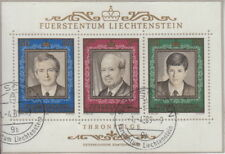 Principality of Liechtenstein: Mi Block 13 Stamped Watch-MW 6,- (r300_38-2#1)