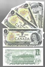Canada One Dollar $1 (1973) Extra Fine (XF) / Almost UNC Banknotes